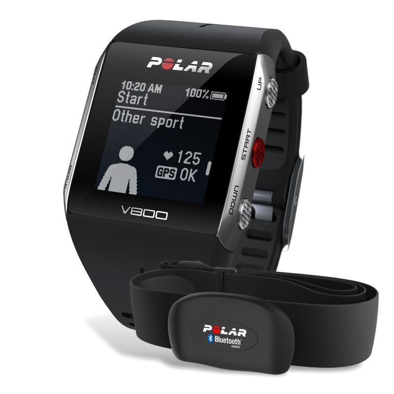 Polar V800 disponuje vestavěným GPS senzorem a barometrickým výškoměrem  pracujícím na bázi atmosferického tlaku. Je to také první sporttester Polar 61e779ce0c2